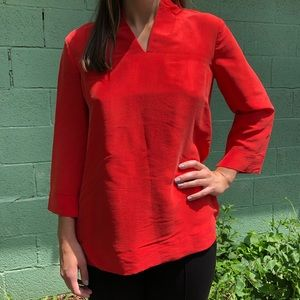 Beautiful Red Blouse